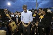 Der demokratische Präsidentschaftskandidat Beto O'Rourke in El Paso (Texas), wo ein Mann 20 Menschen erschoss. (Bild: Mark Lambie/The El Paso Times via AP)