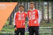 Martin (links) und Daniel Hubmann sind für die WM in Norwegen bereit.