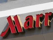 Die Hotelgruppe Marriott hat im zweiten Geschäftsquartal einen Gewinneinbruch erlitten und malt auch keine rosigen Aussichten für den Rest des Geschäftsjahres. (Bild: KEYSTONE/AP/STEVE HELBER)
