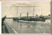 Die belgische Stadt Ostende auf einer Postkarte von 1904. (Bilder: PD)