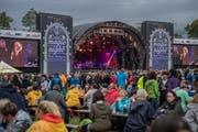 Magic Night auf dem Heitere in Zofingen. Auf dem Bild zu sehen sind Impressionen rund um das Konzert von Billy Ocean. (Bild: Pius Amrein, Zofingen, 7. August 2019)