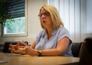 Claudia Frischknecht ist seit 2016 Präsidentin der CVP Appenzell Ausserrhoden. (Bild: Claudio Weder)