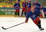 Michael Loosli wechselte im Sommer vom HC Thurgau fix zu Rapperswil-Jona, wo er nun versucht, in der National League Fuss zu fassen. (Bild: Silvano Umberg)