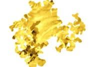 Zwei Atome dick: Britische Forscher haben die laut eigenen Angaben dünnsten Goldplättchen der Welt hergestellt. (Bild: University of Leeds)