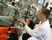 Blick in eine Labor der VAT. (Bild: PD)