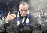 Mag den Geruch von Kohle: Schalke-Boss Clemens Tönnies. (Bild: Keystone)