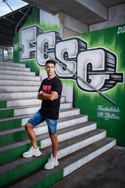 Victor Ruiz hat in St.Gallen einen Vertrag bis 2021 unterschrieben. Bild: Urs Bucher