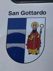 Das Wappen San Gottardo scheint eine Eigenkreation zu sein. (Bild: Marco Morosoli)