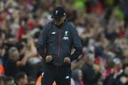 Gelungener Start: Liverpool-Trainer Jürgen Klopp feiert gegen Norwich den zweiten Treffer (Bild: key)