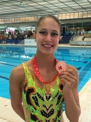 Jessica Jütz holte mit dem Schweizer Jugendteam Bronze. (Bild: PD)