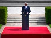 Der deutsche Präsident Frank-Walter Steinmeier hat Polen am Sonntagmorgen anlässlich des 80. Jahrestags des deutschen Überfalls auf das Land um Vergebung gebeten. (Bild: KEYSTONE/EPA/CLEMENS BILAN)