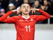 Ruben Vargas kommt in der Bundesliga gut zurecht (Bild: KEYSTONE/ALEXANDRA WEY)