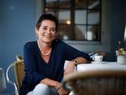 Kandidiert als Parteilose: Andrea Sidler Weiss ist häufig zu Gast im Restaurant Fischmärt. (Bild: Stefan Kaiser, Zug, 8. August 2019)