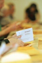 Julia Engel darf im Oktober erstmals einen Wahlzettel ausfüllen. (Bild: Michel Canonica)