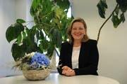 Die Urner Justizdirektorin Heidi Z'graggen tritt ohne Gegenkandidat in den Wahlkampf. (Bild: Urs Hanhart, Altdorf, 4. September 2019)