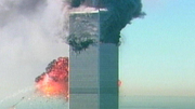 Das zweite Flugzeug crasht in das World Trade Center. (Bild: Keystone)