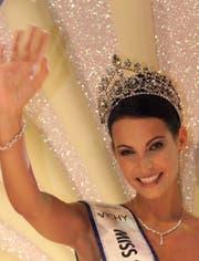 Die Krönung zur Miss Schweiz 1999. (Bild: Alessandro della Valle)