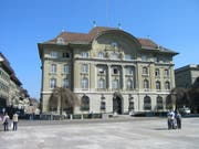 Die Nationalbank in Bern. (Bild: PD)