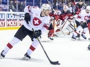 Sven Andrighetto verzeichnete in der KHL mit Awangard Omsk und auch persönlich einen guten Saisonstart (Bild: KEYSTONE/MELANIE DUCHENE)