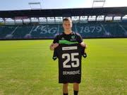 Ermedin Demirović wird beim FC St.Gallen 1879 das Trikot mit der Nummer 25 tragen. (Bild: FCSG)