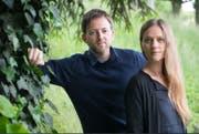 Die Musiker Trummer und Nadja Stoller treten im Kellertheater im Vogelsang auf. (Bild: PD)