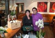 Hugo und Priska Schudel führen mittlerweile das Restaurant Schoren. (Bild: Ralph Ribi)