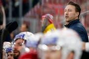 Trainer Jeff Tomlinson steht vor seiner fünften Spielzeit mit Rapperswil-Jona. (Bild: Peter Klaunzer/Keystone)