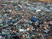 Verwüstete Landstriche, 50 Tote und mindestens 2500 vermisste Menschen auf den Bahamas - das ist die verheerende Bilanz anderthalb Wochen nach dem Hurrikan «Dorian». (Bild: KEYSTONE/AP/FERNANDO LLANO)