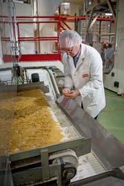 Pasta-Röthlin-CEO Bruno Höltschi. (Bild: Corinne Glanzmann, Kerns, 11. September 2019)