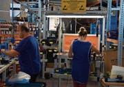 Die Wattwiler Cekatec AG stellt unter anderem Werkzeuge für die Sika her. (Bild: Ruben Schönenberger)