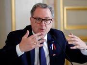 Die Justiz ermittelt gegen Richard Ferrand, den Präsidenten der französischen Nationalversammlung, wegen des Verdachts der unerlaubten Einflussnahme. (Bild: KEYSTONE/AP/FRANCOIS MORI)