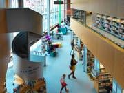 Blick in die Stadtbibliothek Luzern. (Bild: PD)