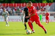 Gjelbrim Taipi spielte ein halbes Jahr für St.Gallen. (Bild: Marc Schumacher/Freshfocus)