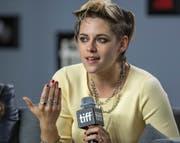 Kristen Stewart stellt ihren Film «Seberg» vor. (Bild: Keystone)