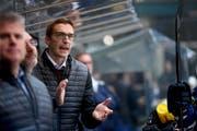 Schwieriger Job für den begabten Ambri-Trainer Luca Cereda in der neuen Saison. (Bild: Samuel Golay/Keystone, Ambri, 5. September 2019)