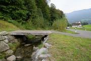Am Kernmattbach (hier bei der alten Teiggi in Kerns) braucht es Hochwasserschutz-Massnahmen. (Archivbild: Robert Hess)
