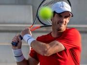 Andy Murray ist im Oktober mittels Wildcard am Masters-1000-Turnier in Schanghai dabei (Bild: KEYSTONE/EPA EFE/CATI CLADERA)
