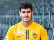 Pedro Teixeira spielt bis zum Saisonende leihweise für Kriens in der Challenge League (Bild: KEYSTONE/PATRICK HUERLIMANN)