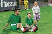 Samel Sabanovic trägt ab sofort nicht mehr Grün. (Bild: Kurt Frischknecht)