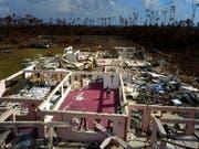 Der Hurrikan «Dorian» hat auf den Bahamas verheerende Schäden angerichtet. (Bild: KEYSTONE/AP/RAMON ESPINOSA)