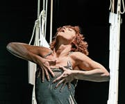 Starke Sololeistung: Tänzerin Cecilia Wretemark. Bild: Tanja Dorendorf