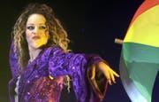 Darf an keiner «Bravo Hits Party» fehlen: Die Songs von Blümchen. (Bild: Keystone)