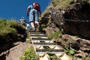 Auch 2019 gerieten zahlreiche Wanderinnen und Wanderer im Alpstein in eine Notsituation. (Bild: Urs Jaudas)