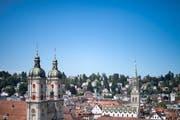 1918 vereinigte sich die Stadt zu Gross-St.Gallen. Somit wurde St.Gallen mehrheitlich katholisch. Aus Angst, die reformierte Stimme in der Gesellschaft untergeht, entstand 1919 die «Freie protestantische Vereinigung St.Gallen». (Bild: Benjamin Manser (23.August 2017))