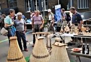 An 30 Marktständen zeigen die Isenthaler das alte Handwerk. (Bild: PD)