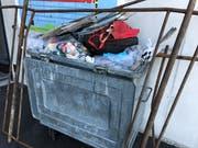 Ein ganzer Container voller Müll wurde gefüllt. (Bild: PD)