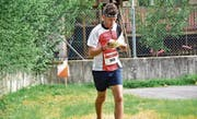 Martin Ciro aus Büren konnte in der Kategorie Herren A mittel an den OL-Schweizer-Meisterschaften aufs Podest laufen.Bild: pd