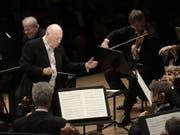 Zum Abschiedskonzert von Dirigent Bernard Haitink spielten die Wiener Philharmoniker am Lucerne Festival. (Bild: Peter Fischli / LUCERNE FESTIVAL)