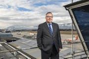 Der 59-jährige André Schneider ist seit drei Jahren Chef des Flughafens Genf. (Bild: Aurélien Bergot)