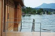 Die Seebadi in Luzern. (Bild: Corinne Glanzmann)